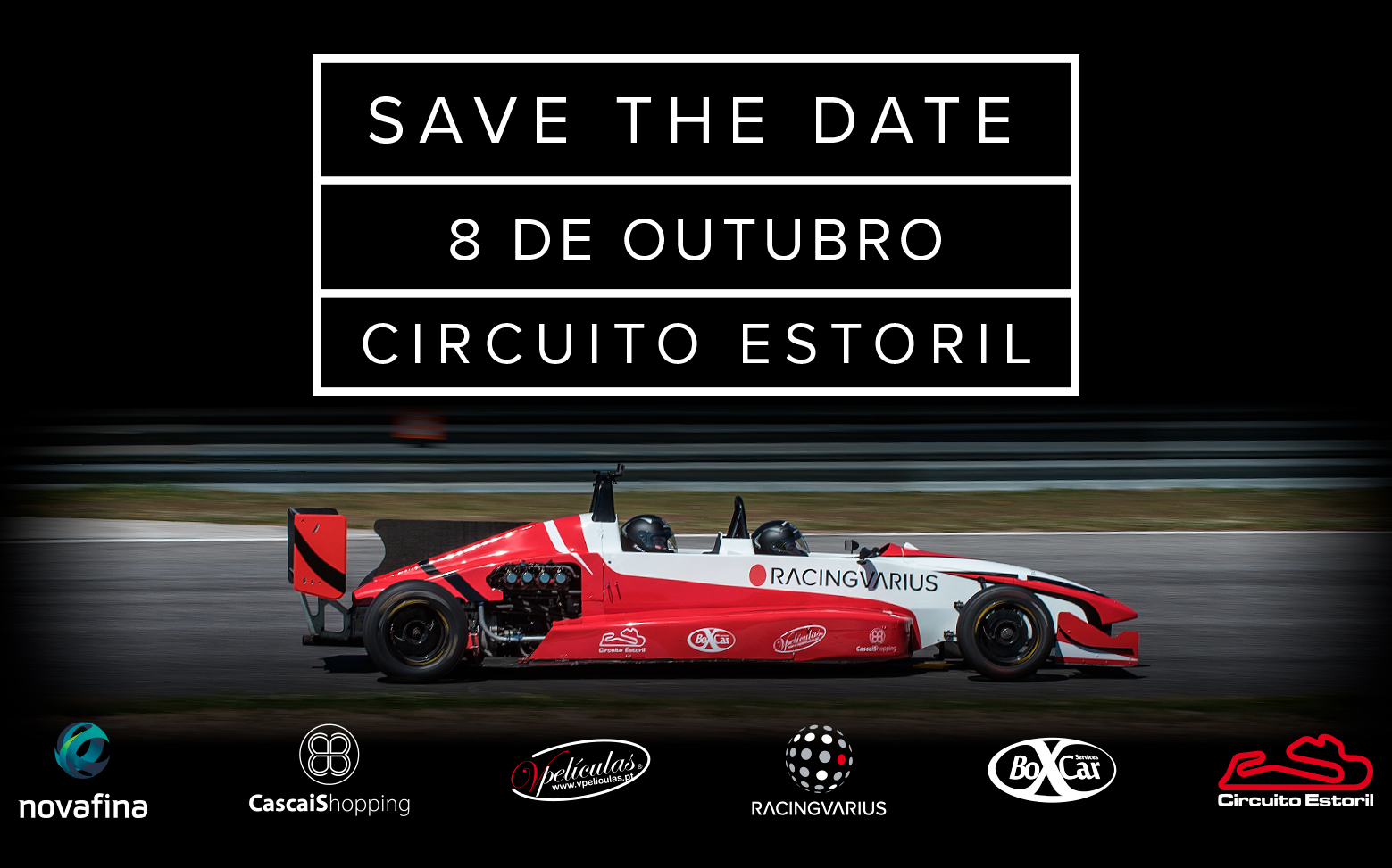 Save the Date 8 de Outubro